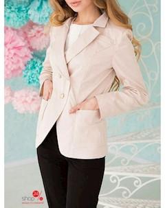 Пиджак цвет бежевый Lux-look