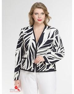 Пиджак цвет белый синий Elena miro