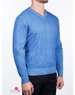 Пуловер цвет синий Alfred muller