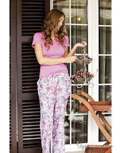 Пижама цвет розовый Maranda