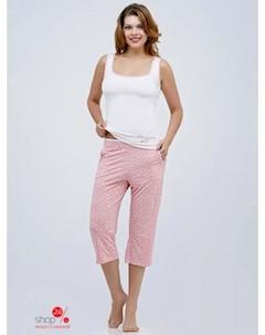 Комплект майка бриджи цвет розовый Mariposa