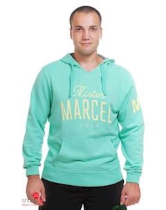 Свитшот цвет светло зеленый Mister marcel