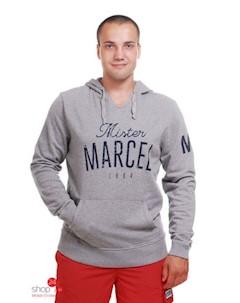 Свитшот цвет серый Mister marcel