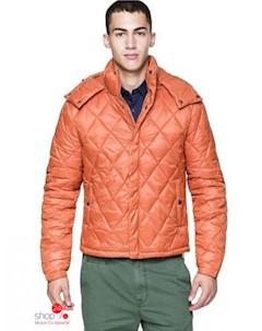 Куртка цвет оранжевый United colors of benetton
