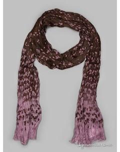 Палантин цвет коричневый розовый Passigatti