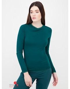 Лонгслив Jewels цвет зеленый плющ Cheek by lisca