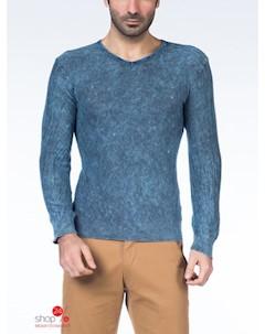 Пуловер цвет светло синий Saint laurent