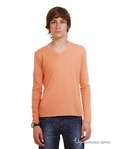 Пуловер цвет оранжевый Red soul
