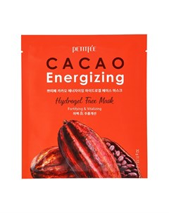 Гидрогелевая маска Cacao Energizing Hydrogel Face Mask Petitfee