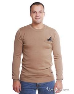 Пуловер мужской цвет коричневый Red soul
