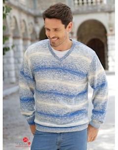 Пуловер Babista цвет синий экрю Klingel