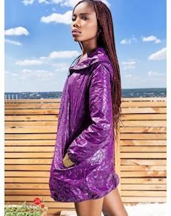 Плащ цвет фиолетовый Marani