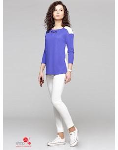 Джемпер цвет синий белый Prio
