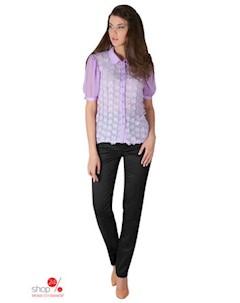 Блуза цвет сиреневый Ksenia knyazeva