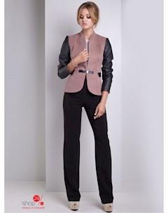Пиджак цвет коричневый черный Luzana