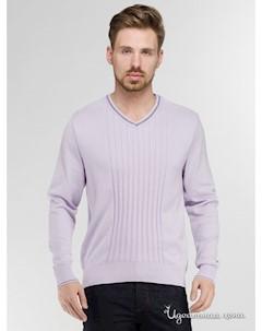 Пуловер цвет сиреневый Delazarro