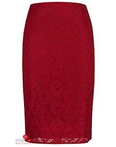 Юбка цвет бордовый Ksenia knyazeva