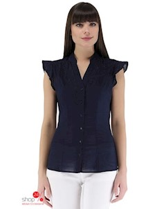 Блуза цвет синий Baon