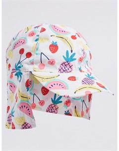Солнцезащитная шляпа Фрукты с фильтром UPF50 для девочки Marks & spencer