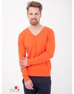 Пуловер цвет оранжевый Primo emporio