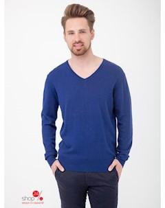 Пуловер цвет синий Primo emporio