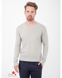 Пуловер цвет серый Moscanueva