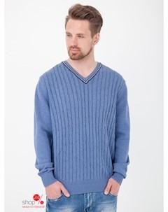 Пуловер цвет голубой Ferrante