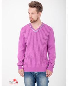 Пуловер цвет розовый Ferrante