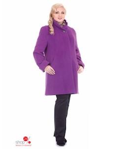 Пальто цвет сиреневый Синар