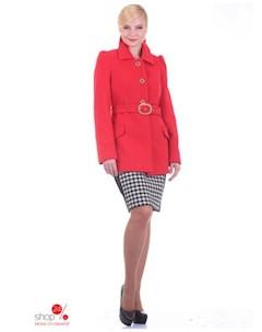 Пальто цвет красный Синар