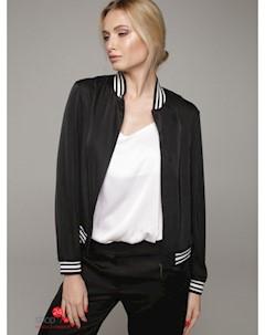 Бомбер цвет черный Lavana fashion