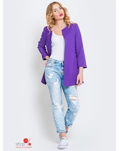 Кардиган цвет фиолетовый Leo pride