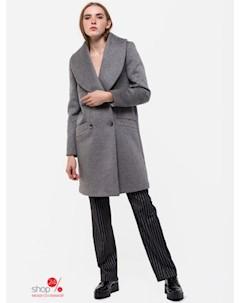 Пальто цвет светло серый Ksenia knyazeva