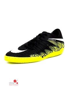 Бутсы цвет черный желтый Nike