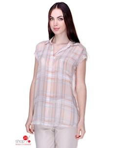 Блуза цвет бежевый серый Mango