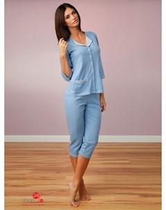 Пижама цвет голубой Unikat