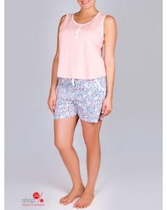 Пижама цвет персиковый Sis