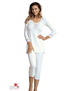 Пижама цвет белый Babella