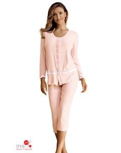 Пижама цвет персиковый Babella