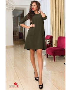 Платье цвет хаки Zirka