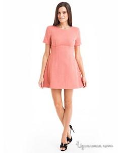 Платье цвет розовый Leo mayers