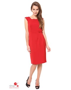 Платье цвет красный Moda prym