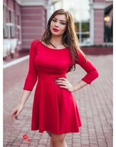 Платье цвет красный Charm