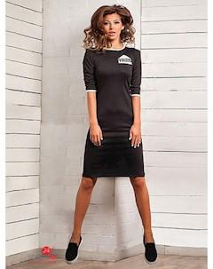 Платье цвет черный Charm