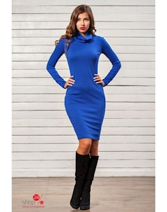 Платье цвет синий Charm