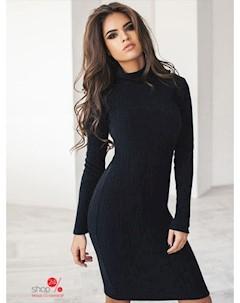 Платье цвет черный Podium
