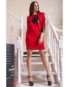 Платье цвет красный Flf
