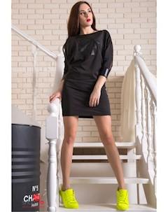 Платье цвет черный Flf