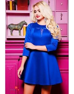 Платье цвет ярко синий Boston
