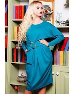 Платье цвет бирюзовый Swirlbyswirl